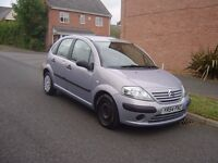 CITROEN C3/MOT OCT 2017 LOW MAILAGE AT 44000 FORM NEW