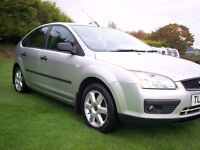2006 FORD FOCUS 1.6 SPORT***2 OWNERS***MOT MAY 2017***DRIVES AS NEW***EXCELLENT FAMILY CAR***