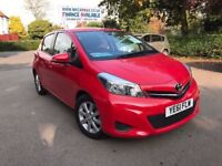 2011 YARIS TR VVTI 1.0 PETROL 20500 MILES £30 TAX SATNAV REV CAMERA BLUETOOTH FINANCE £125 PER MONTH