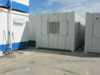 32ft x 10ft Anti Vandal Portable Cabin OPEN PLAN site office welfare unit shipping container shed