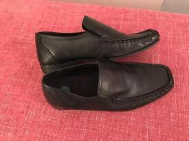 Virtually new Boys River Island loafers.