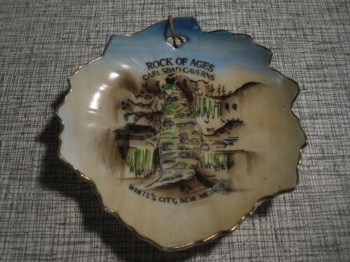 Rock of Ages Big Room Carlsbad Caverns New Mexico Souvenir Leaf Tray