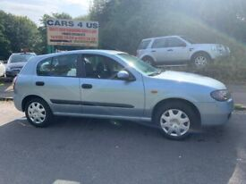 Nissan Almera S 1.8L Petrol Automatic! Low Mileage! With Full Service History from Main Dealer