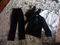 Boys Black Suit