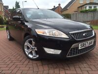 *12 MONTHS WARRANTY*2007(57)FORD MONDEO 1.8 TDCI TITANIUM X 5DR HATCH(125BHP)DRIVES REALLY WELL*