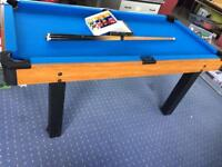 Pool Table Kids 5.5ft by 2.5ft