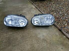 VW GOLF MK4 genuine front lights