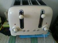 Duailit four slice toaster