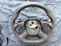Audi A3 A4 A5 A6 A8 Custom Made Steering Wheel Paddle Shift