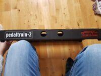 Pedaltrain 2 pedal board with soft case