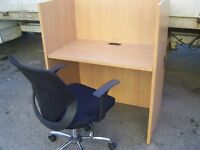OFFICE CALL CENTRE INTERNET CAFE DESK BOOTHS CUBICLES 27 FOR SALE