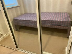 3ft single bed with guest bed