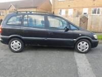 1999 vauxhall zafira 7 seats (seater)
