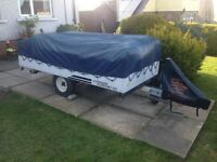 CONWAY TRAILER TENT 4 BERTH PLUS AWNING