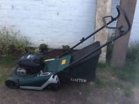 **HAYTER**SPIRIT 41**LAWN MOWER**BRIGGS AND STRATTON ENGINE**RECENTLY SERVICED**CUTS BEAUTIFULLY**