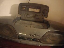 Retro Panasonic boombox