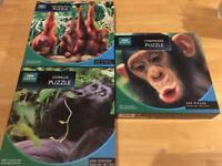 BBC Earth Chimpanzee, Gorilla & Orangutan Puzzles