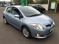 TOYOTA,AURIS,TR,VVT-I,5DR,MANUAL,PETROL,1598cc,122BHP,2007(57),BLUE,**LOW MILEAGE**