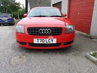 1.8T Audi TT, Low Miles, 1 year MOT