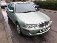 ROVER 25 1.4 PETROL MANUAL 5 DOOR HATCHBACK MOT NON RUNNER GEARBOX GREAT GOOD BODYWORK 200 400 45 MG
