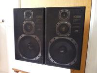 JVC MODEL NO SP - E500 BKE HI - FI SPEAKERS - VERY GOOD CONDITION