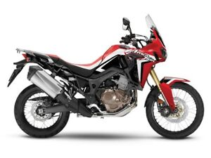 2017 Honda Africa Twin DCT Low KM Demo Rally Red