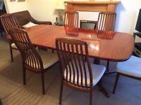 Rose hardwood table