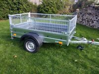 NEW Car trailers and mesh 6 x 4 x 2,25 FIX PRICE £620 inc vat