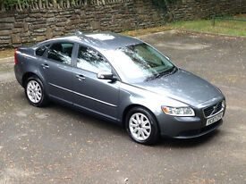 FANTASTIC EXAMPLE/GREAT CONDITION!! 2007 (57) VOLVO S40 S D 2.0 DIESEL MANUAL NEW MOT ALLOYS