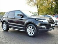 2013 13 LAND ROVER RANGE ROVER EVOQUE 2.2 SD4 PURE 4X4 AUTOMATIC 5d 190 BHP CALL 01224774455