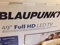 49 inch led tv (no box ) smoke free home