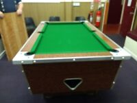 Full Sized Slate Pool Table
