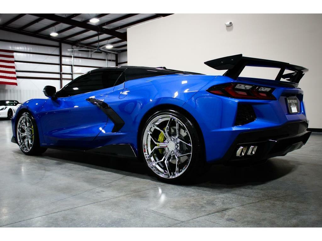 2021 Blue Chevrolet Corvette   | C7 Corvette Photo 3