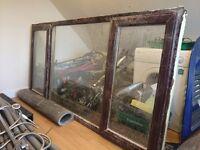 Brown Double Glazed Window