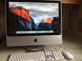 iMAC 20 inch mid 2007 with original keyboard and mouse