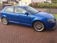 STUNNING 2006 AUDI A3 S LINE TFSI SPECIAL EDITIONS FULL SERVICE HISTORY £3250 ONO PX WELCOME