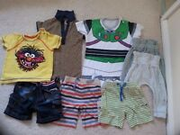 Boys Spring / Summer Clothes Bundle 9-12 Months Old, all very good condition