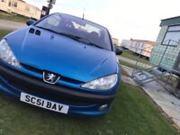 Clean peugeot 206 cc (reduced price!)