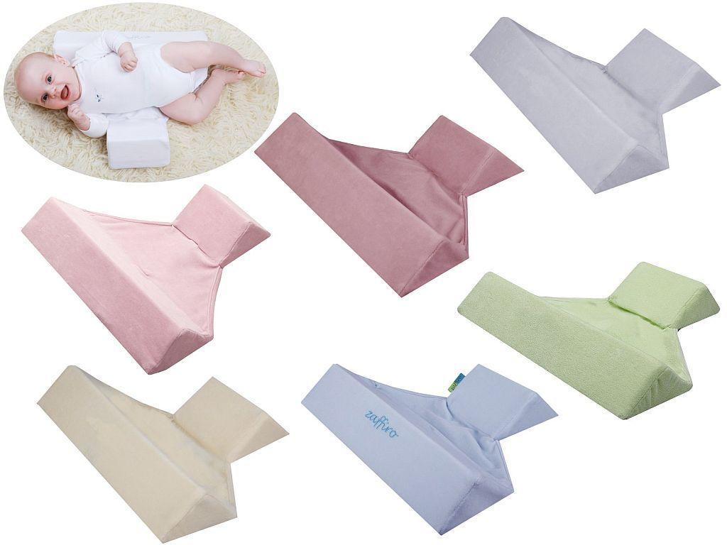 Seitenlagerungskissen / Kissen für Babys Zaffiro weiche Microfaser Top Qualität!