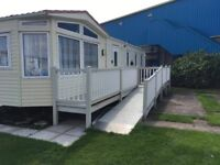 Luxury 3 bedroom caravan on Kingfisher Ingoldmells with ramp