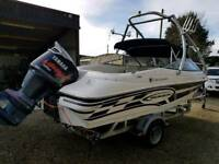 Campion Chase 580 yamaha 150 vmax speed boat