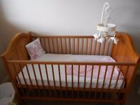 Mothercare Durham Cot Bed & Mattress