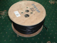 Labgear coaxial cable fot TV aerial, satelite dish, Part reel, aprox 200metres, New