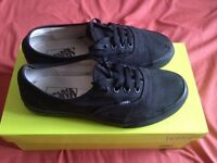 Vans Off The Wall Era 59 Pumps Casual Lace Up Canvas Trainers UK Size 5