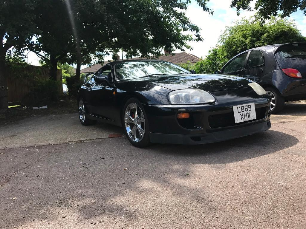 Toyota Supra N/A 5 speed manual with LSD Black