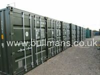 Cheap self storage, shipping container storage, secure lock ups in Essex and London