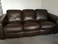 3 + 2 seater sofa's.