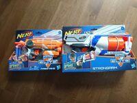 Brand new nerf guns