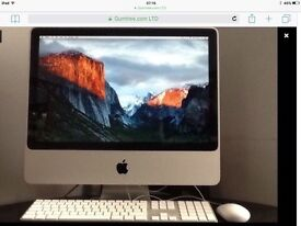 """Immaculate Condition Throughout,IMac Desktop With Bluetooth Keyboard and Mouse,20"""",Free Delivery"""