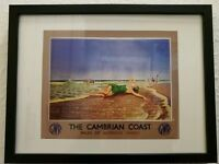 Framed print The Cambrian Coast poster